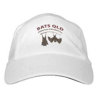 Bats QLD Basic White Hat