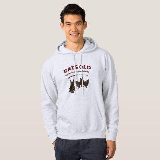 Bats QLD Coloured Mens Hooded Sweatshirt