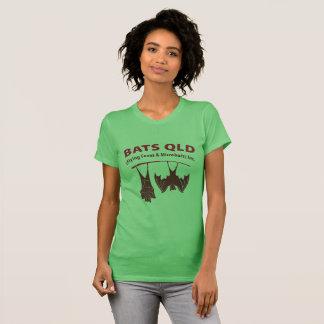 Bats QLD Coloured Women's American Fine T Shirt
