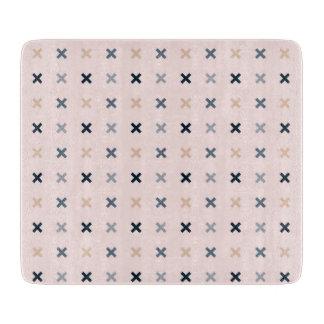 Batsu X Minimalist Pattern Cutting Board