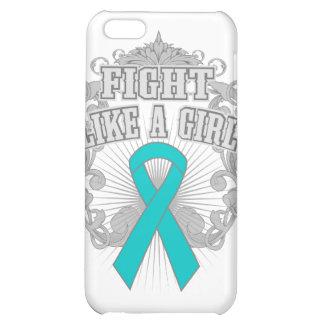 Batten Disease Fight Like A Girl Fleurish Case For iPhone 5C