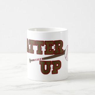 Batter Up Basic White Mug