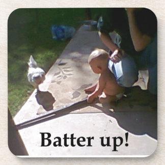 Batter up coaster