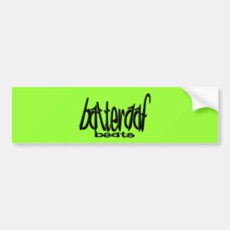 Batteraaf-Beats Bumper Sticker