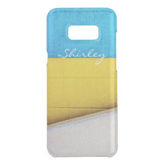 Battered Building-Minimal Abstract by STaylor Uncommon Samsung Galaxy S8 Plus Case