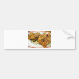 Battered Chicken Bumper Stickers
