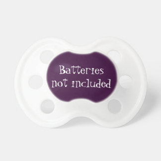 Batteries Not Included Pacifier