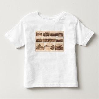 Batteries, redoubts, building, canal, bridge toddler T-Shirt
