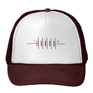 Batteries Symbol Trucker Hats