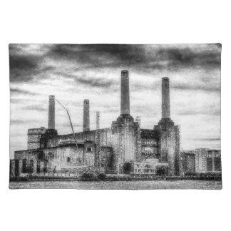 Battersea Power-Station London Snow Placemat