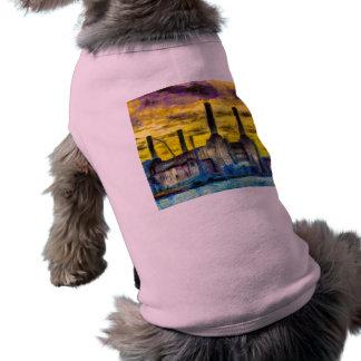 Battersea Power Station Sunset Art Shirt