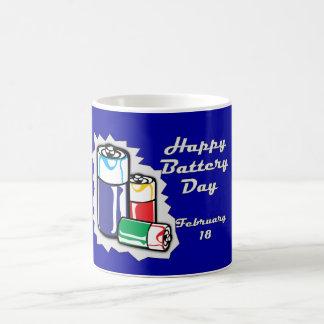 Battery Day February 18 Mug