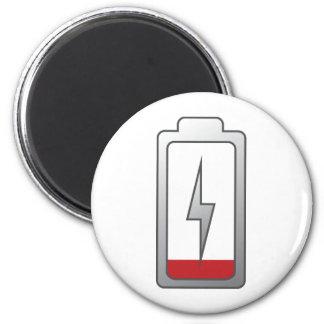 Battery Low Fridge Magnet