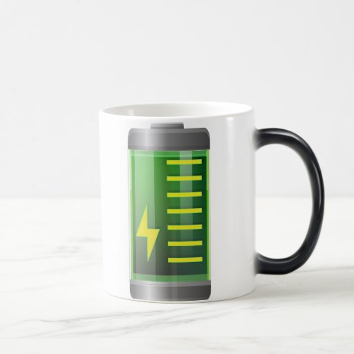 Battery Morph Mug - Morphing Magic Coffee Mug