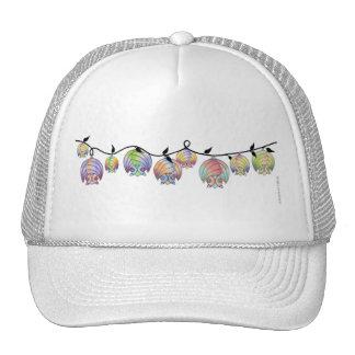 Batties on a vine cap. cap