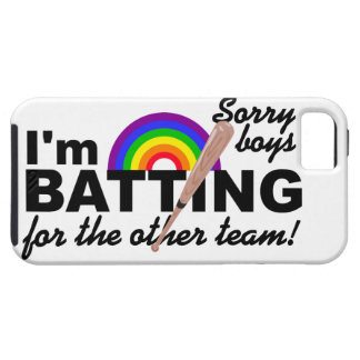 Batting for the Other Team iPhone 5 Case-Mate iPhone 5 Covers