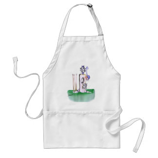 BATTING LESSON, tony fernandes Standard Apron