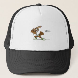 Batting Owl Trucker Hat