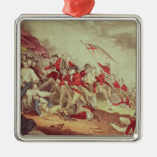 Battle at Bunker's Hill Christmas Ornament