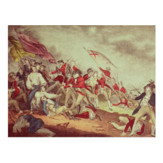 Battle at Bunker's Hill Postcard