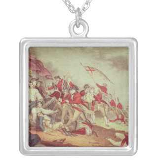 Battle at Bunker's Hill Silver Plated Necklace