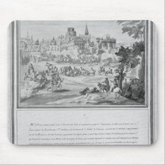 Battle at Porte Sainte-Antoine, 2nd July 1652 Mouse Mat