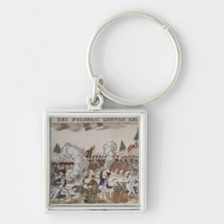 Battle between Polish and Russian Troops, 1831 Key Ring