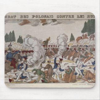 Battle between Polish and Russian Troops, 1831 Mouse Mat