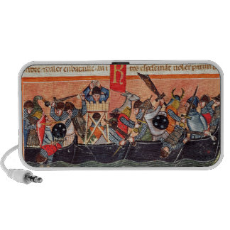 Battle between Romans and Gauls iPhone Speaker
