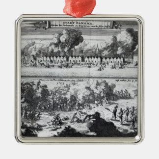 Battle between the Buccaneers Christmas Ornament