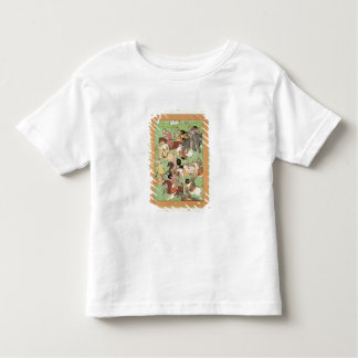 Battle between the forces of Iran and Turan, illus Toddler T-Shirt