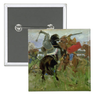 Battle between the Scythians and the 15 Cm Square Badge