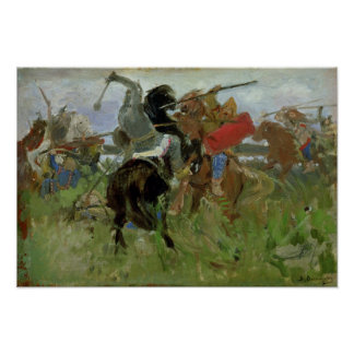 Battle between the Scythians and the Poster