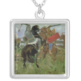 Battle between the Scythians and the Silver Plated Necklace