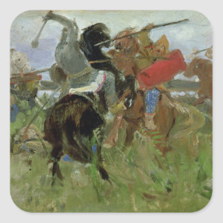 Battle between the Scythians and the Square Sticker
