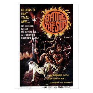 Battle Beyond the Sun Postcard