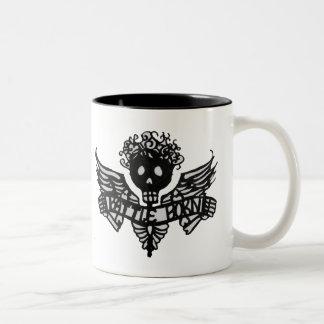 Battle Born Angelina (Lft Handed) Two-Tone Coffee Mug