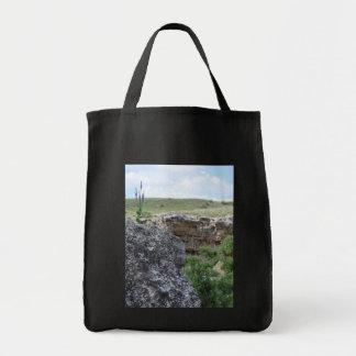 Battle Canyon - Scott County, Kansas Grocery Tote Bag