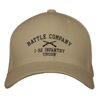 Battle Company Hat Embroidered Baseball Caps