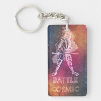 Battle Cosmic Double-Sided Rectangular Acrylic Key Ring