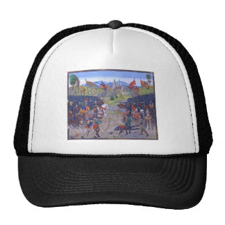 Battle English vs French Trucker Hats