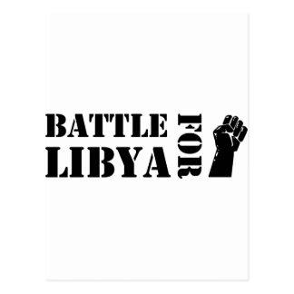 Battle for Libya Postcard
