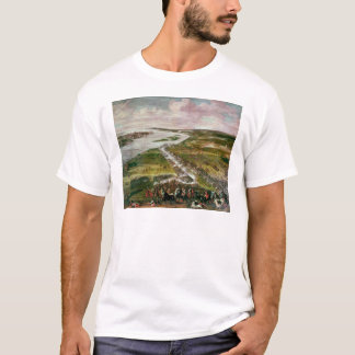 Battle for the Crossing of the Dvina, 1701 T-Shirt