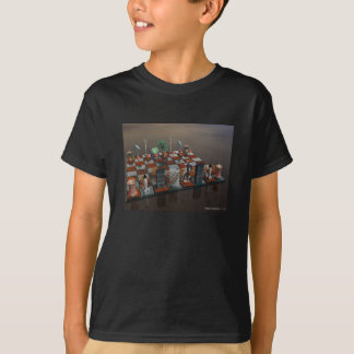 Battle for the planet, world chess T-Shirt