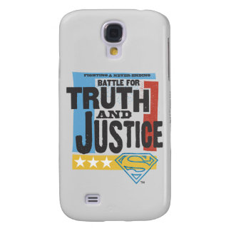 Battle for Truth & Justice Galaxy S4 Case
