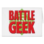 Battle Geek v2 Greeting Card