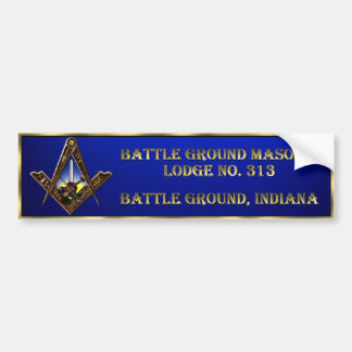 Battle Ground 313 Bumper Sticker