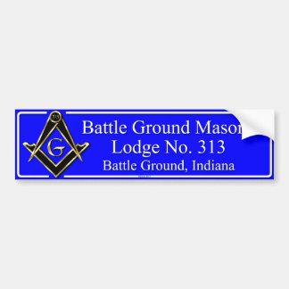 Battle Ground Lodge 313 Bumper Sticker