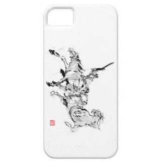 Battle & horse - Tales of ancient Japan iPhone 5 Cover