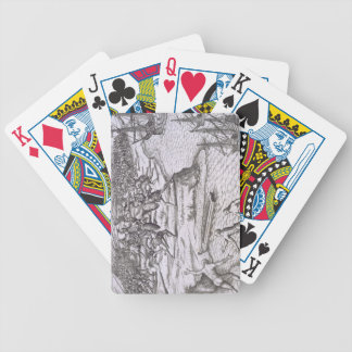 Battle in Jamaica between Christopher Columbus (14 Bicycle Playing Cards